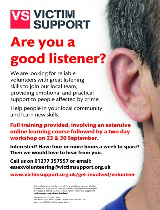 Could you volunteer with Victim Support?