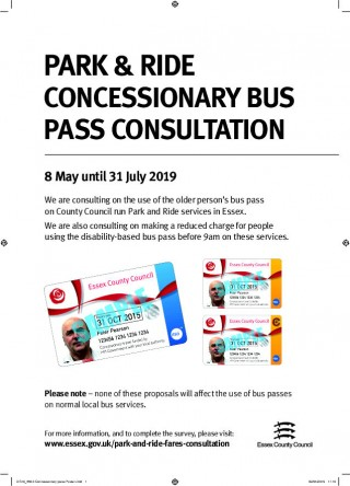 Essex County Council Park and Ride Bus Pass Consultation
