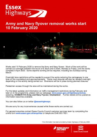 Army and Navy Flyover Works